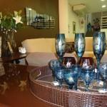 copos em cristal lapidado