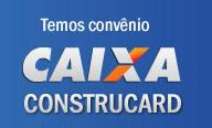 Possuimos convênio com o Construcard